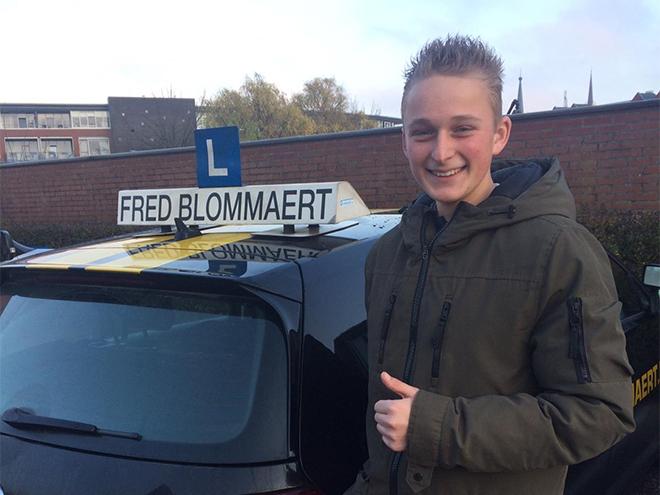 Fred Blommaert - Geslaagden: Mitchel
